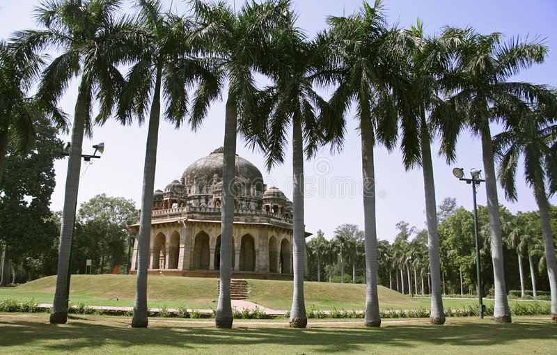 Download Silhouetted Palm Trees, Lodhi Gardens Stock Photo - Image: 4345106