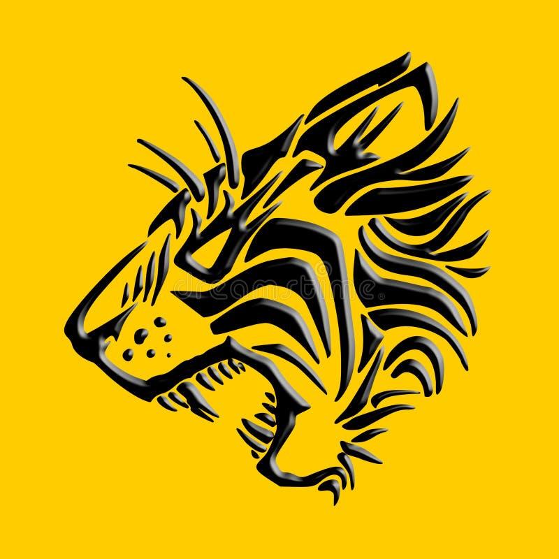 Download Tiger Graphic Design stock illustration. Illustration of roars - 6485929