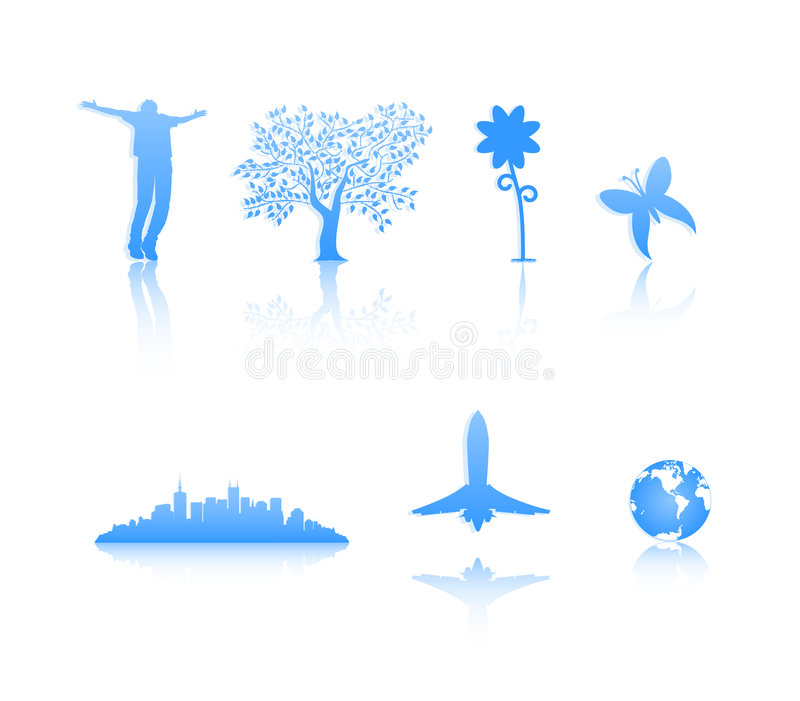 Download Silhouettes Royalty Free Stock Photos - Image: 1182098