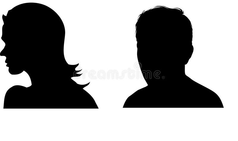 Silhouettes stock photo