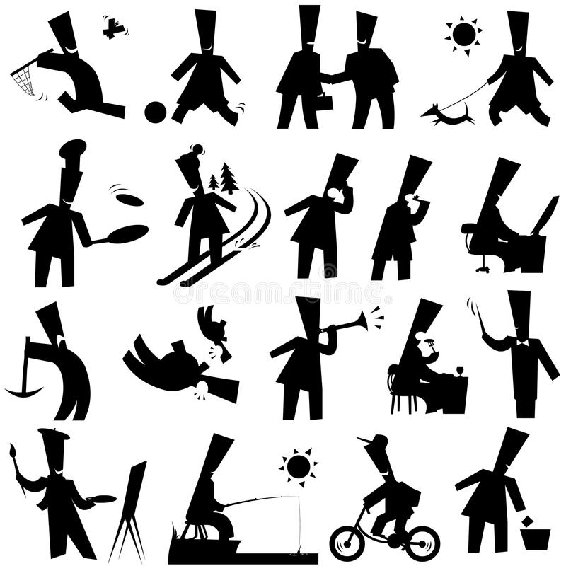 Free Silhouettes Stock Image - 21760071