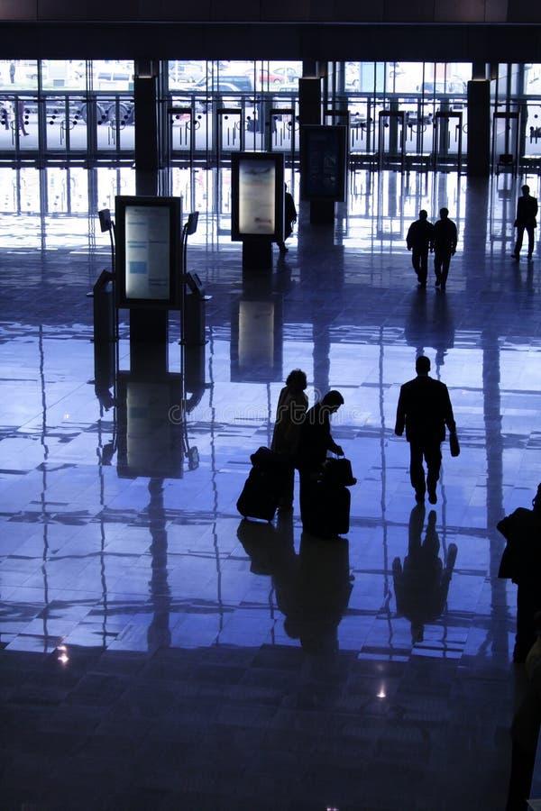 silhouettes royaltyfri foto