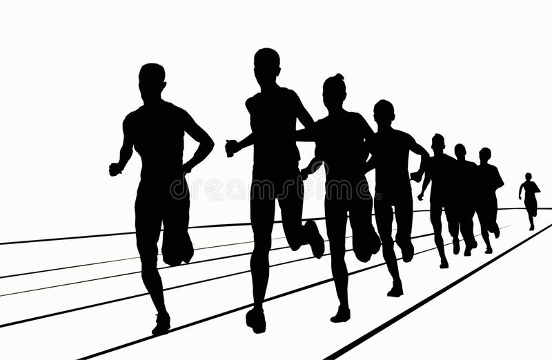Silhouettes - 5000 mt royalty free stock photo