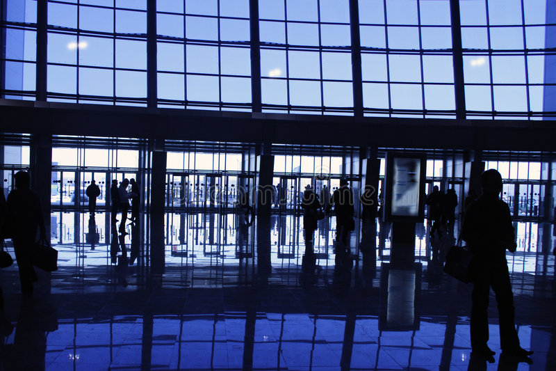 silhouettes arkivfoto