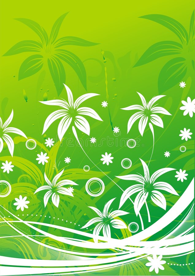 Download Silhouettes Of Abstract Leaves Stock Vector - Illustration: 9057611