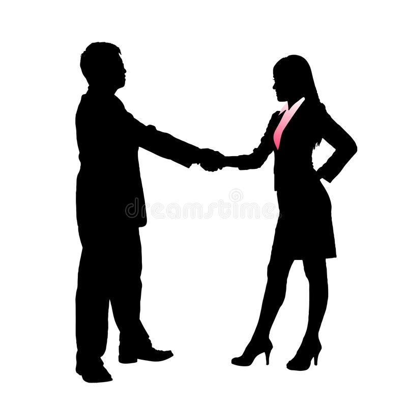 Download Silhouettes Of Business Team Royalty Free Stock Images - Image: 34797149