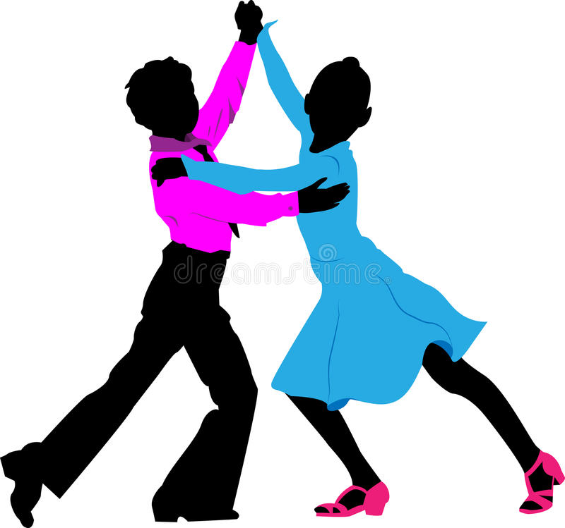 silhouettes of children dancing couple stock vector ballroom dancing clipart png Ballroom Dancing Graphics