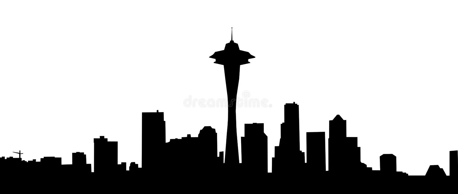 Download Silhouettes of city stock illustration. Illustration of modern - 5194384