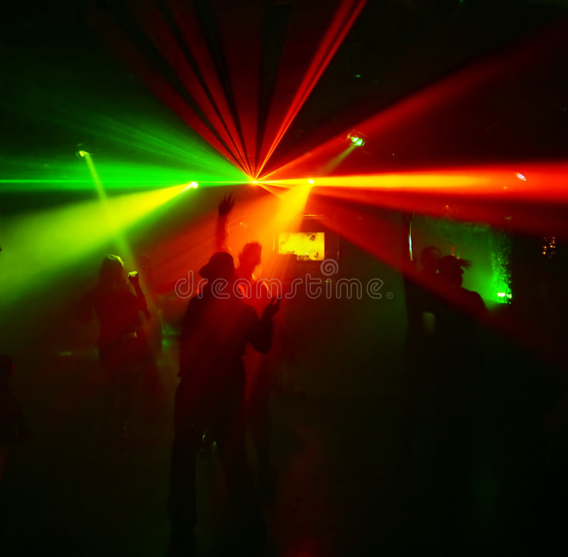 Download Silhouettes Of Dancing Teenagers Stock Image - Image: 1700641