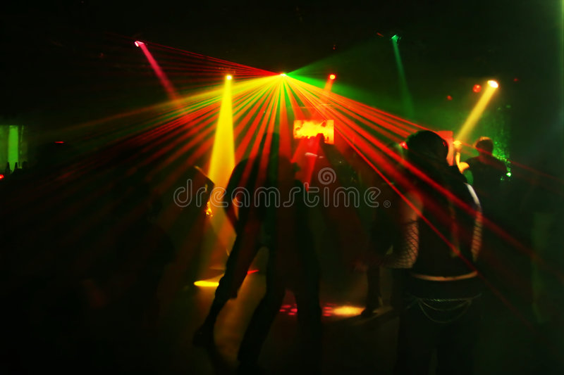 Download Silhouettes Of Dancing Teenagers Stock Image - Image of people, discotheque: 1700793