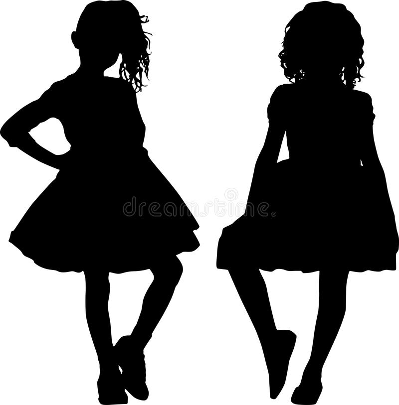 Download Silhouettes Of Teen Royalty Free Stock Photo - Image: 26525595
