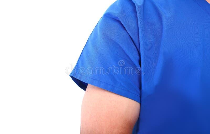 Silhueta do doutor masculino fotos de stock