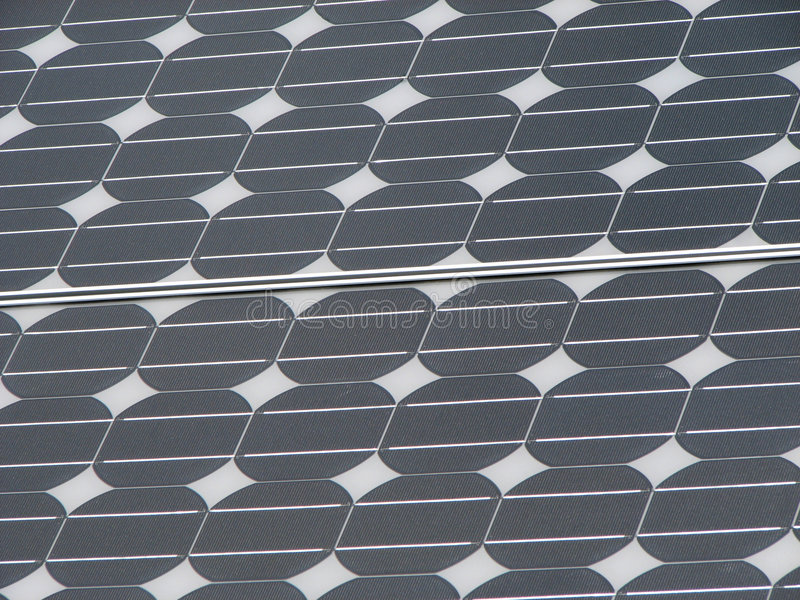 Silicon solar panel. Silicon photovoltaic solar panel background stock images