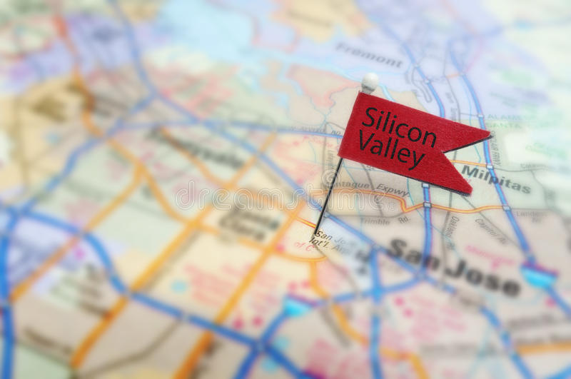 Silicon Valley royalty-vrije stock fotografie