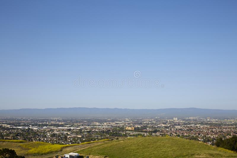 Silicon Valley-Stadtansicht stockbilder