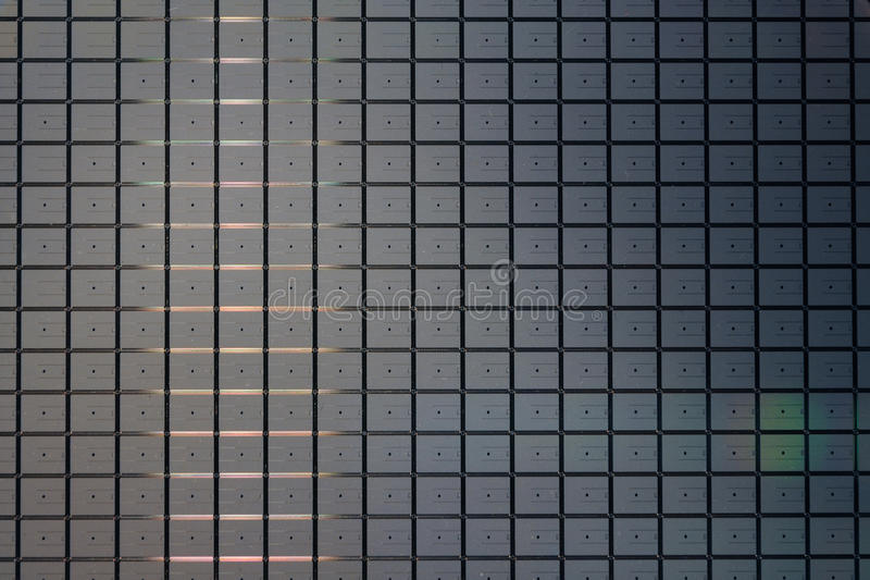 Silicon wafer royalty free stock photos