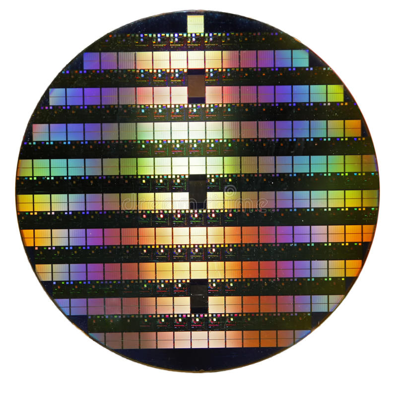 Free Silicon Wafer Stock Image - 37232881