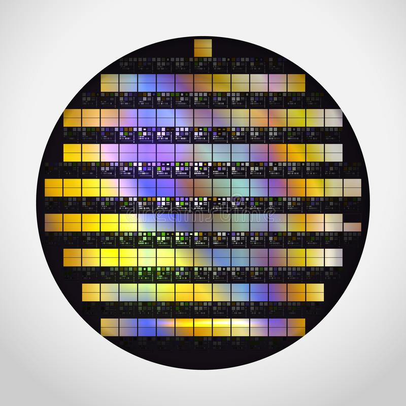 Silicon Wafer Stock Illustrations – 57 Silicon Wafer Stock