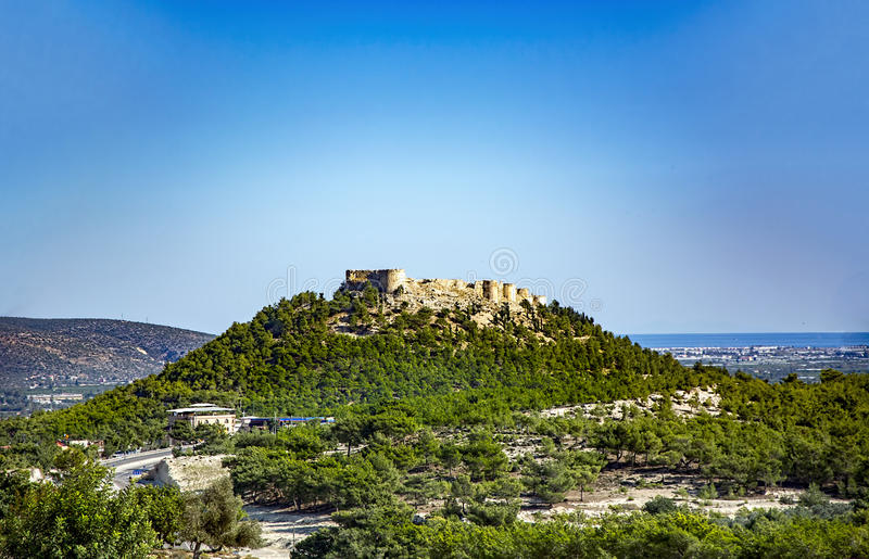 Silifke Castle (silifke,Turkey) Stock Photo - Image: 63259066