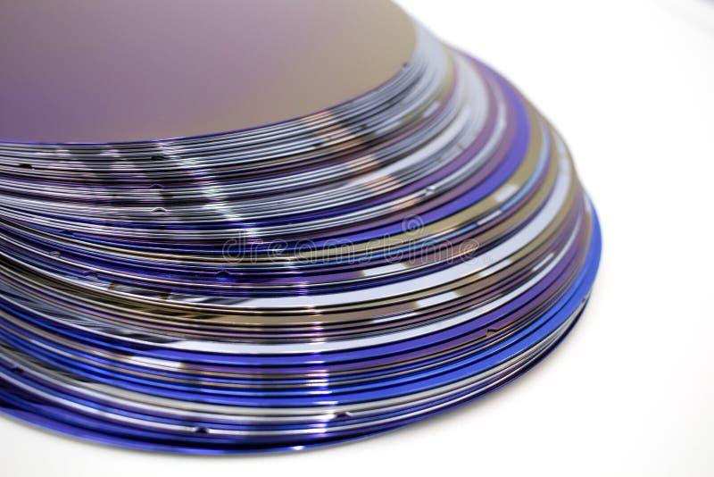 Silikonowi op?atki purpura kolor w zapasie obrazy stock