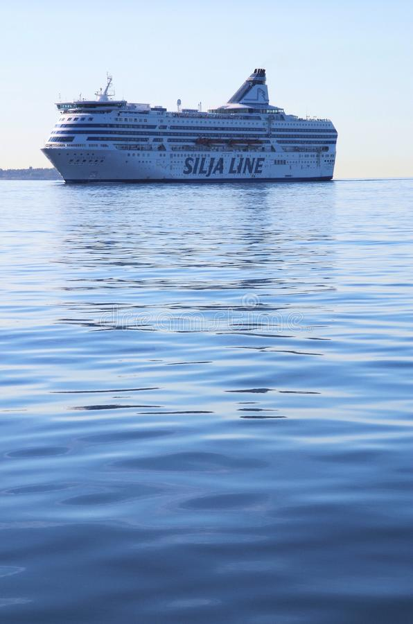 Silja Line cruiseferry foto de stock royalty free