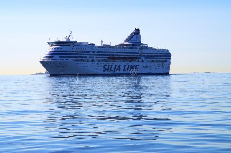 Silja Line cruiseferry imagens de stock