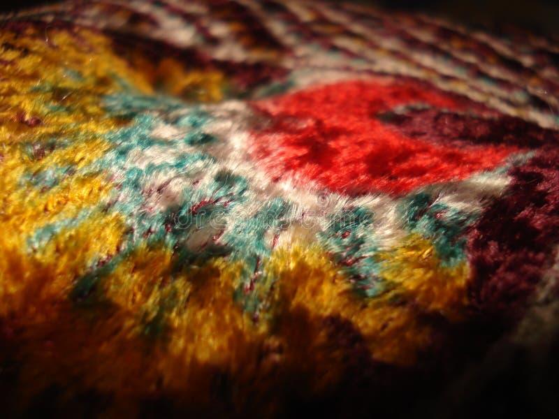 Silk крышка одеяла стоковая фотография rf
