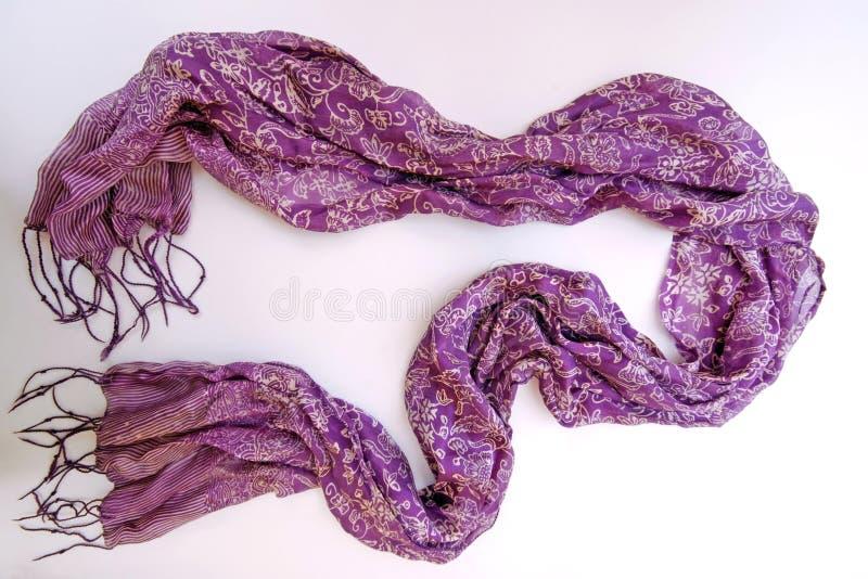 Silk шарф стоковые фотографии rf