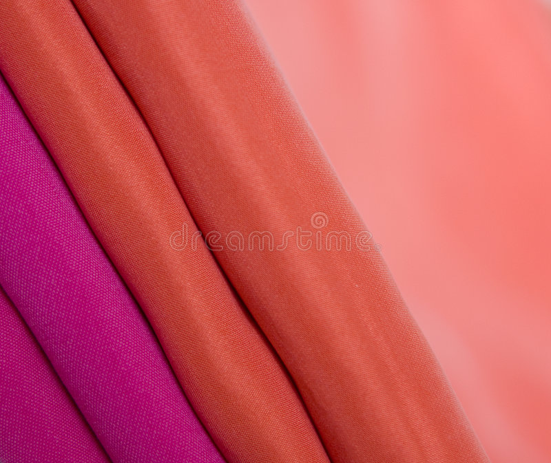 Silk. Pink and carmine silk (macro stock images