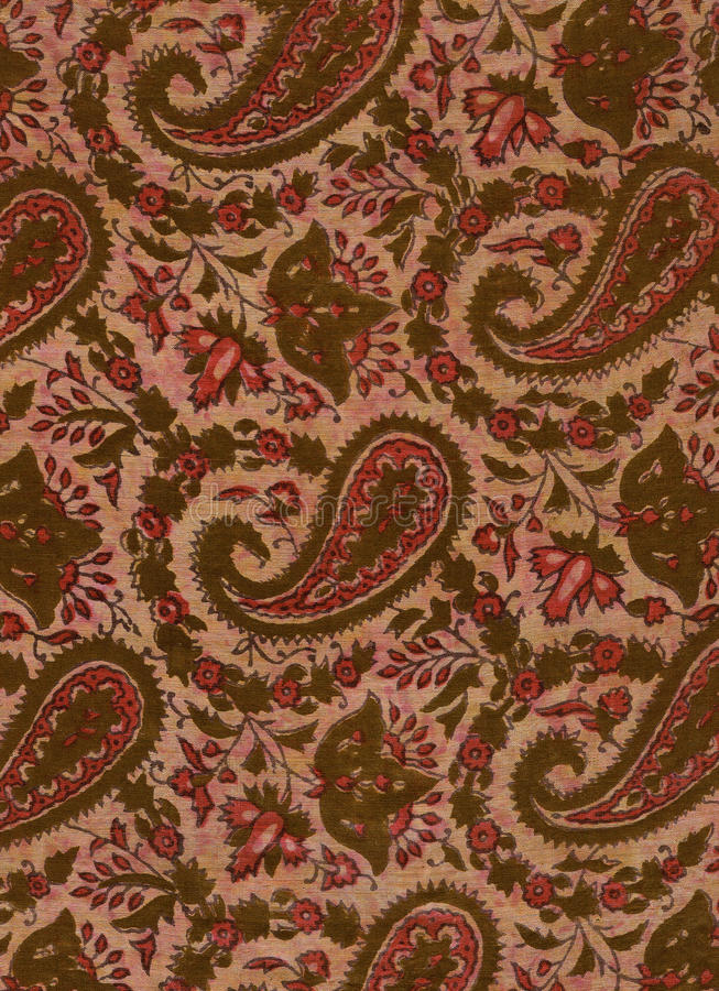 Free Silk Cachmere Pattern. Stock Photo - 20145340