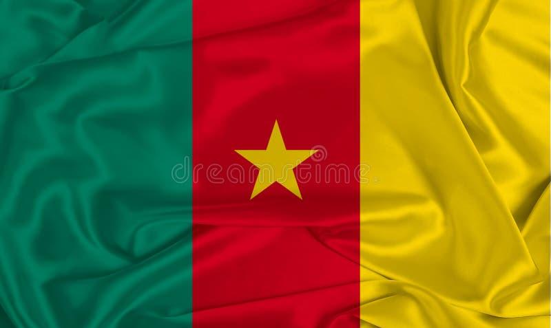 Silk Cameron Flag stockbilder