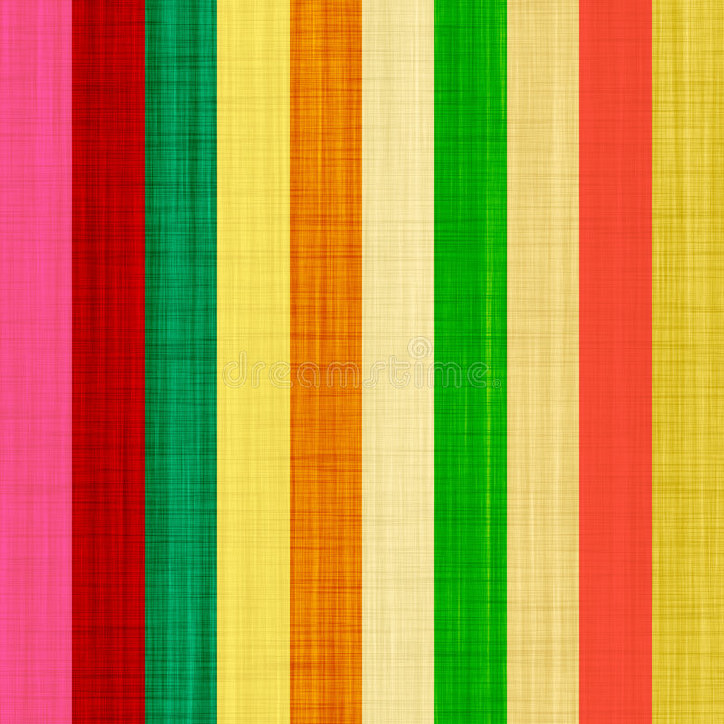 Silk color lines. Warm color lines with silk fabric imprint royalty free illustration