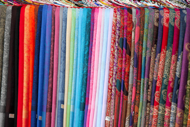Silk Fabric Royalty Free Stock Image