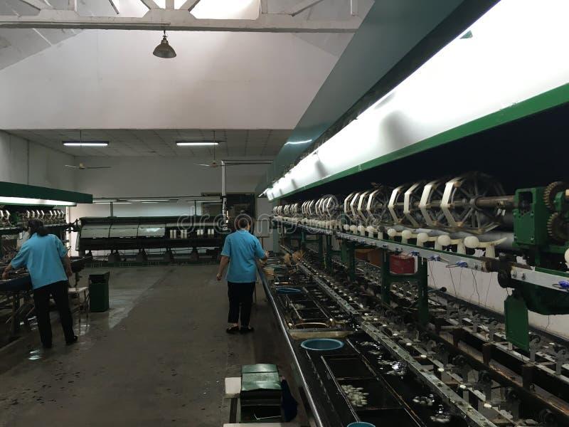Silk Fabrik lizenzfreies stockbild