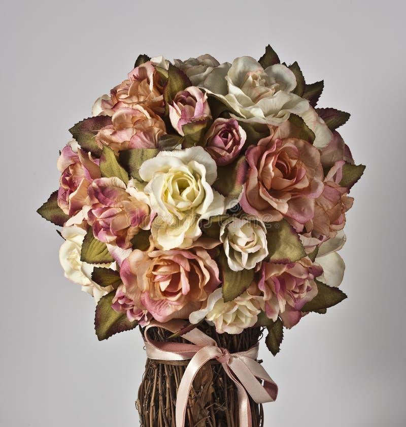 Download Silk Flowers stock image. Image of arrangement, ribbon - 12728611