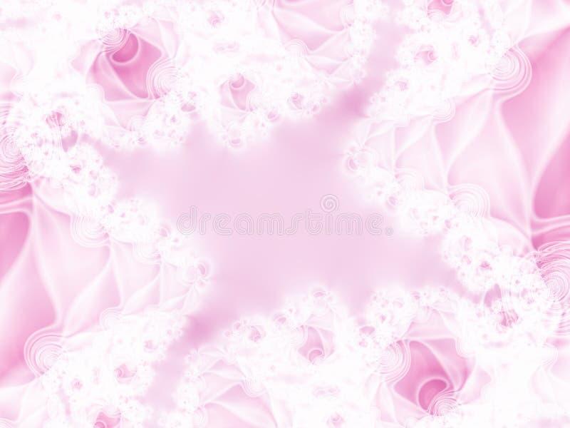 Silk and lace. Fractal illustration stock illustration
