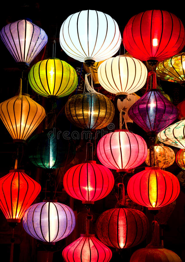 Download Silk lanterns stock image. Image of southeast, traditional - 23075835