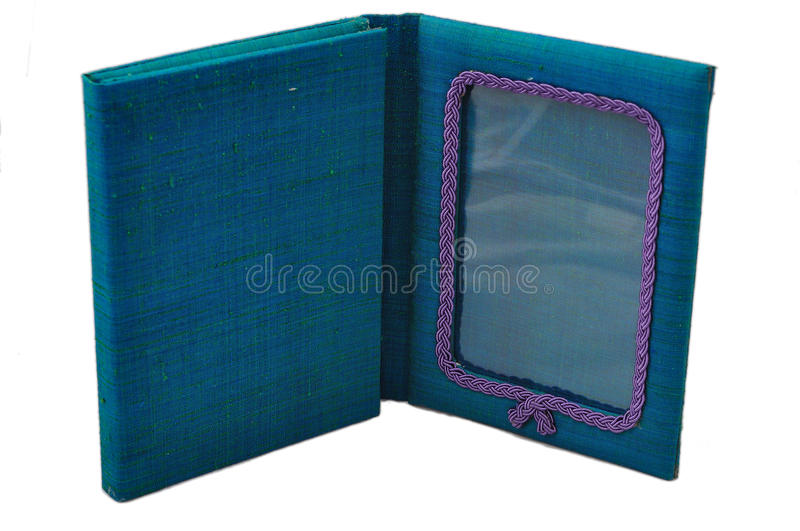 Silk photo frame stock images