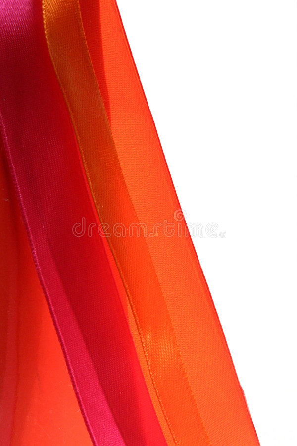 Silk Ribbons stock images