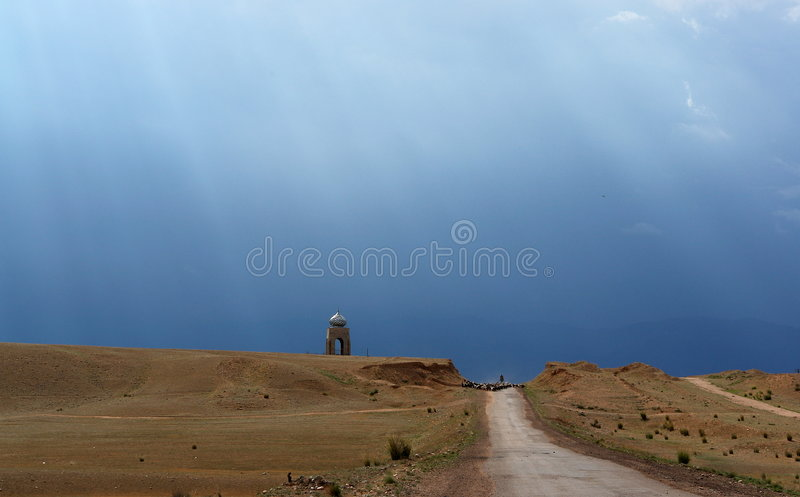 Silk Road, stock photo