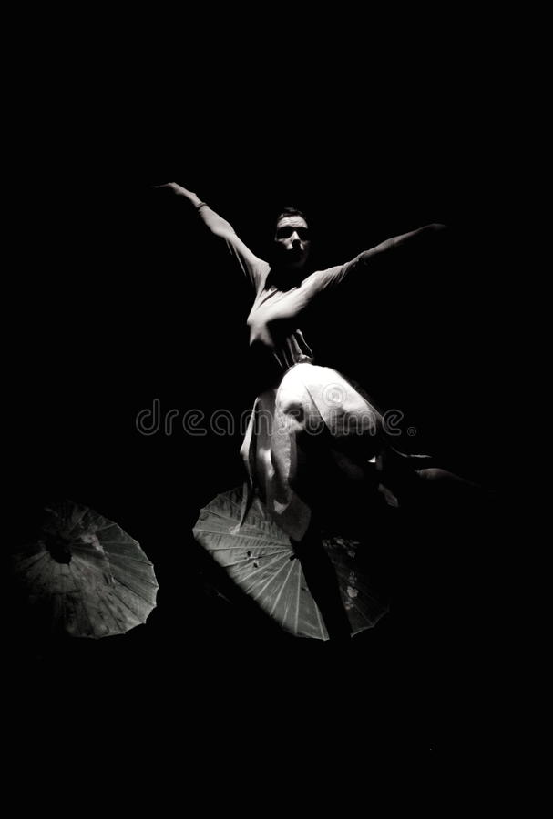 The Silk Route - Ballet Dancer stock photo