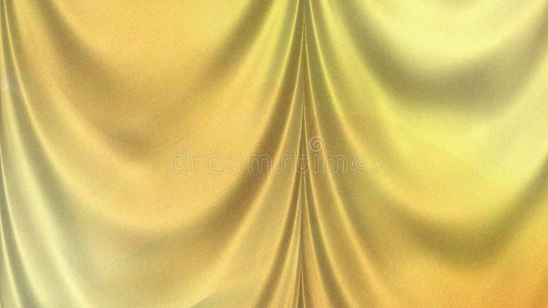 Silk Satin Yellow Background Beautiful elegant Illustration graphic art design Background. Image royalty free stock photography