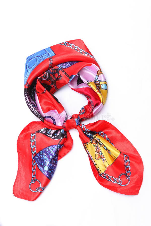 Download Silk scarf stock photo. Image of nice, brown, headscarf - 23635058