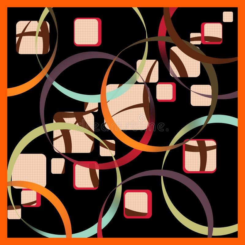 Silk scarf vector illustration