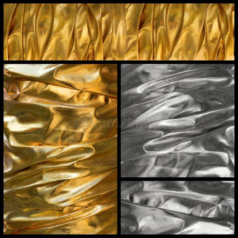Silk textile background stock image