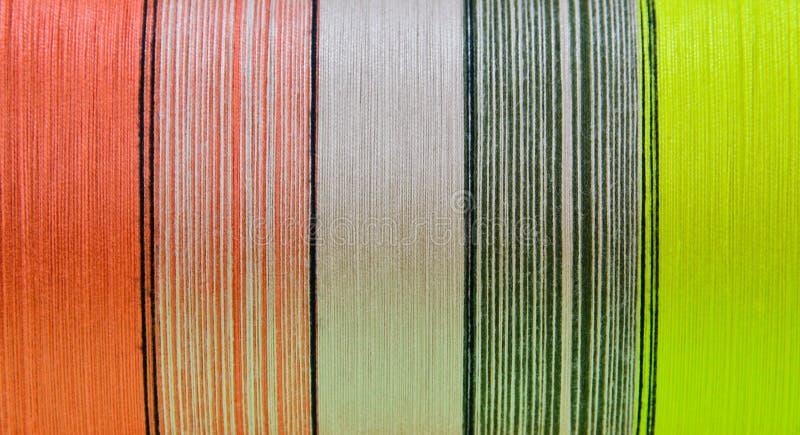 Silk Thread In Spool Royalty Free Stock Photos