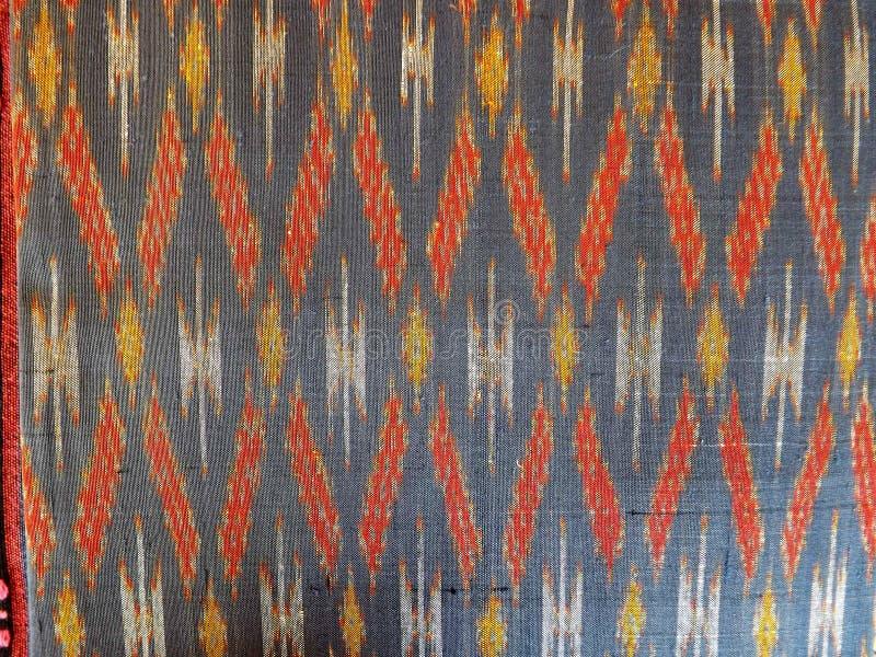 Silk weaving in Thailand royalty free stock photos