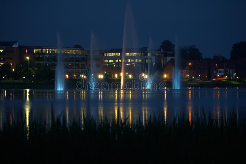 Silkeborg,丹麦 免版税库存照片