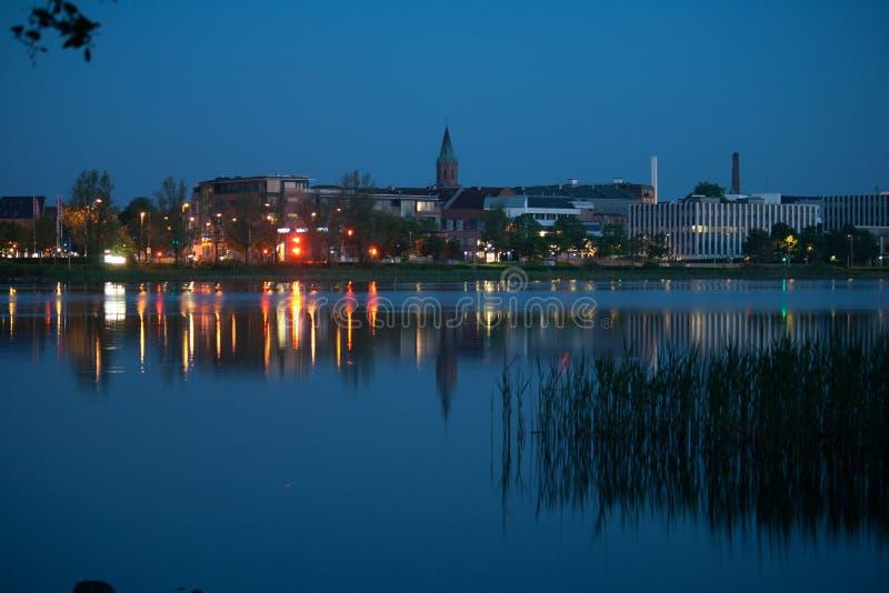 Silkeborg,丹麦 库存照片