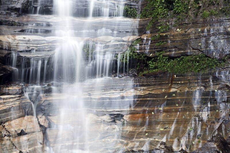 Download Silken waterfall stock image. Image of rock, geologic - 22514407